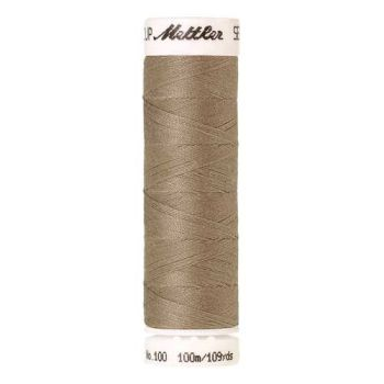 Mettler Threads - Seralon Polyester - 100m Reel - Stone 0379