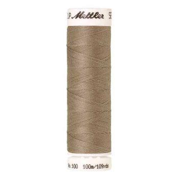 Mettler Threads - Seralon Polyester - 100m Reel - Stone 0379