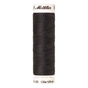 Mettler Threads - Seralon Polyester - 100m Reel - Dark Charcoal 0416