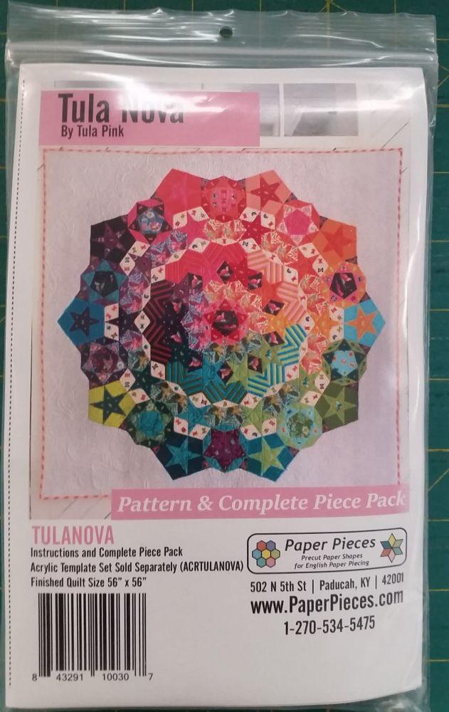 Tula Pink - Tula Nova Pattern & Complete Piece Pack