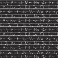 Hoffman Fabric - Alphabet Handwriting - Digital Print - 100% Cotton - 1/4m+