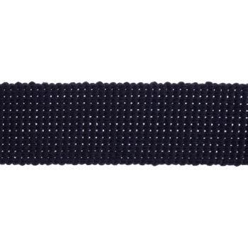 Webbing - Cotton Acrylic - Navy - 30mm Wide - Metre