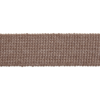 Webbing - Cotton Acrylic - Light Taupe - 30mm Wide - Metre