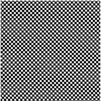 Nutex Fabric - Chess Black and white check - 100% Cotton - 1/4m+