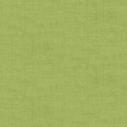 Makower Fabric - Linen Texture Look - Sage Green - 100% Cotton