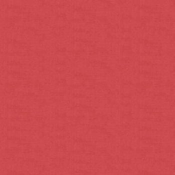 Makower Fabric - Linen Texture Look - Old Rose - 100% Cotton