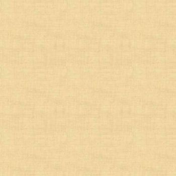 Makower Fabric - Linen Texture Look - Straw - 100% Cotton