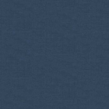 Makower Fabric - Linen Texture Look - Bluestone - 100% Cotton