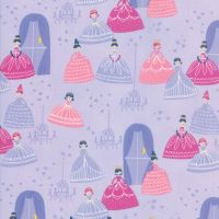 Moda Fabric - Once Upon A Time - Grand Ball - Lavender - 100% Cotton
