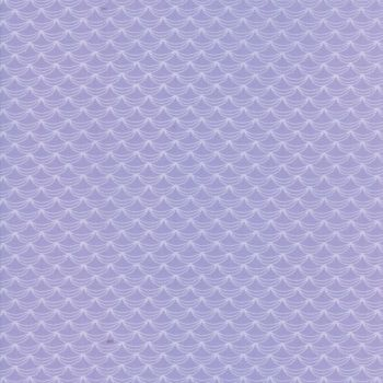Moda Fabric - Once Upon A Time - Ruffles A Plenty - Wisteria - 100% Cotton