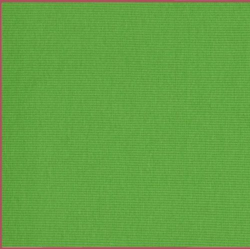 Stretch Ribbing/Collar/Cuff Fabric - Plain Green HW - 95% Cotton 5% Lycra H