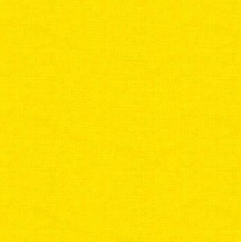Makower Fabric - Linen Texture Look - Sunshine - 100% Cotton