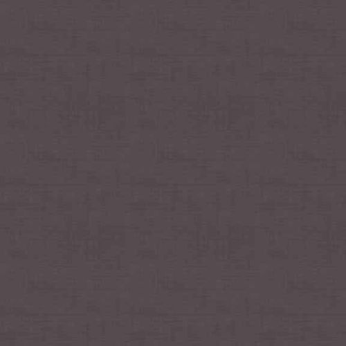 Makower Fabric - Linen Texture Look - Aubergine - 100% Cotton