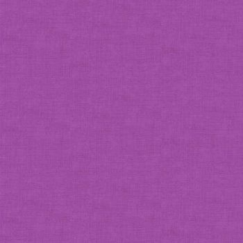 Makower Fabric - Linen Texture Look - Hyacinth - 100% Cotton