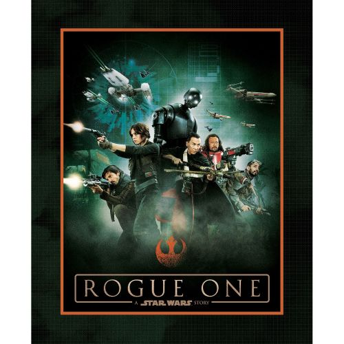 Star Wars Rogue One Fabric - Heroes Panel - 100% Cotton