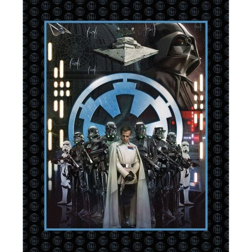 Star Wars Rogue One Fabric - Villains Panel - 100% Cotton