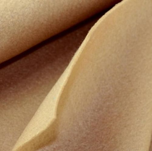 1.5mm Felt Fabric Sheet - Camel - 100% Polyester - Rectangular Sheet