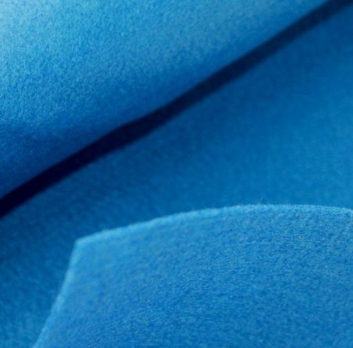 1.5mm Felt Fabric - Cobal Blue - 100% Polyester - Metre