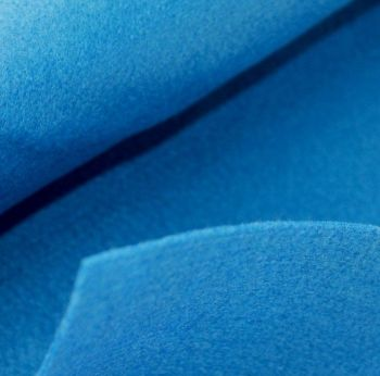 1.5mm Felt Fabric Sheet - Cobalt Blue - 100% Polyester - Rectangular Sheet