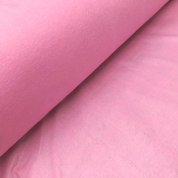 1.5mm Felt Fabric - Baby Pink - 100% Polyester - Half Metre