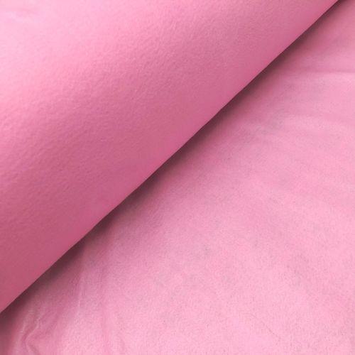 1.5mm Felt Fabric - Baby Pink - 100% Polyester - Metre