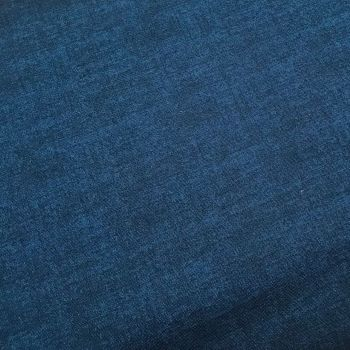 Makower Fabric - Linen Texture Look - Navy B10 - 100% Cotton