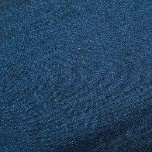 Makower Fabric - Linen Texture Look - Navy B10 - 100% Cotton