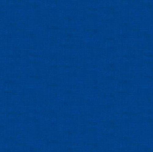 Makower Fabric - Linen Texture Look - Aquamarine - 100% Cotton