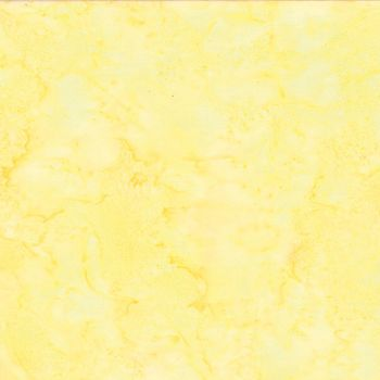 Hoffman Batik Fabric - Watercolour 1895 - March Yellow - 100% Cotton