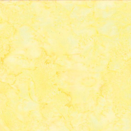 Hoffman Batik Fabric - Watercolour 1895 - March Yellow - 100% Cotton