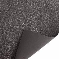 Glitter Felt Fabric Sheet - Pewter - 100% Polyester - Sheet