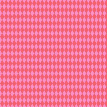 Andover Fabric - Libs Elliot - Greatest Hits - Harlequins - Pink - 100% Cotton - 1/4m+