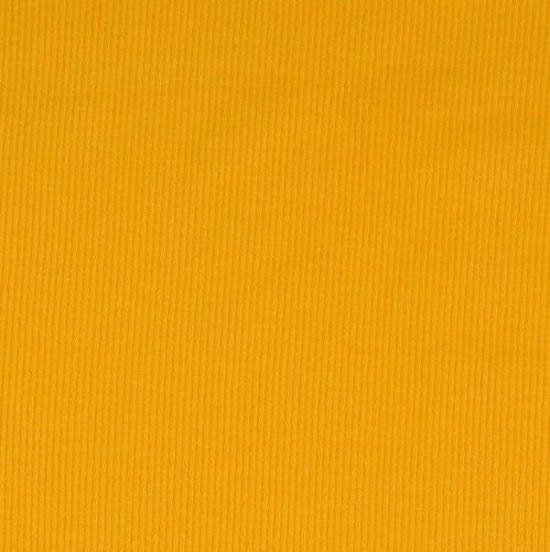 Stretch Ribbing/Collar/Cuff Fabric - Plain Yellow HW - 95% Cotton 5% Lycra
