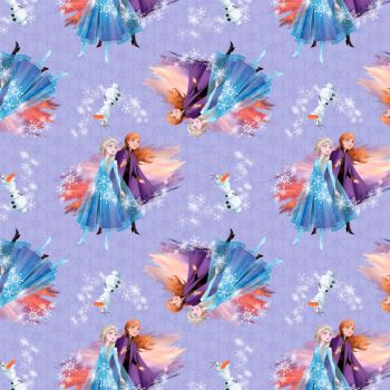 Disney Fabric - Frozen 2 - Destiny Awaits - 100% Cotton - 1/4m+