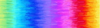 Timeless Treasures Fabric - Nightlife - Rainbow Ombre - 100% Cotton - Long 1/4m+