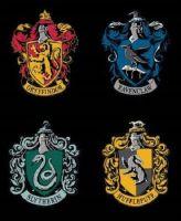 Harry Potter Fabric - Wizarding World - House Crest Panel - 100% Cotton