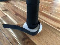 Black Flat Woven Elastic - 32mm