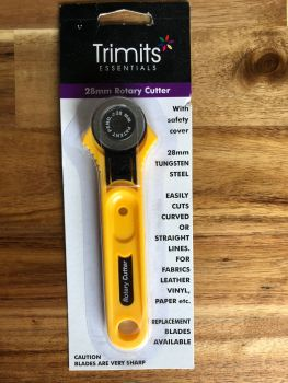 Trimits Essentials - Straight Blade Rotary Cutter - 28mm