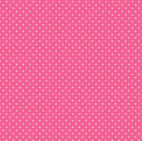 Makower Fabric - Spots - Candy Pink P65 - 100% Cotton - 1/4m+