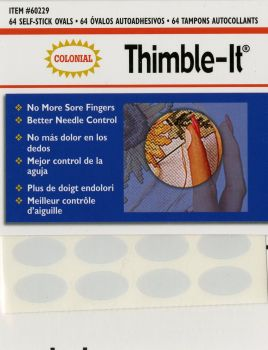 Haberdashery - Thimble-It - Self Stick Disposable Thimble pad x 64