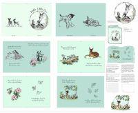 Disney Fabric - Bambi Softbook Panel - 100% Cotton
