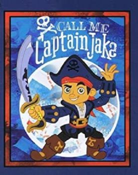 Disney Fabric - Captain Jake Panel - 100% Cotton