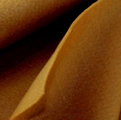 1.5mm Felt Fabric - Camel - 100% Polyester - Half Metre