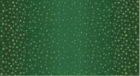 Makower Fabric - Ombre Snowflake - Green - 100% Cotton - Long 1/4m+