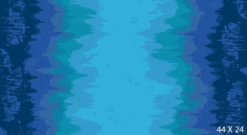 Andover Fabric - Giucy Giuce - Inferno - Chill Blue B1 - 100% Cotton - Half