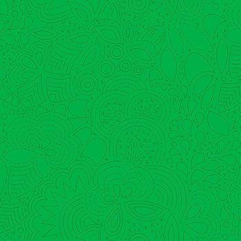Andover Fabric - Alison Glass - Sun Prints - Stitched - Grasshopper - 100% Cotton - 1/4m+