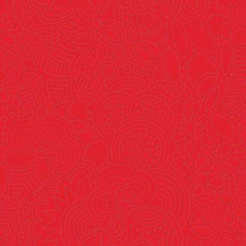 Andover Fabric - Alison Glass - Sun Prints - Stitched - Poppy - 100% Cotton - 1/4m+