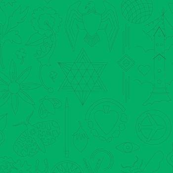 Andover Fabric - Alison Glass - Sun Prints - Embroidery - Turtle - 100% Cotton - 1/4m+