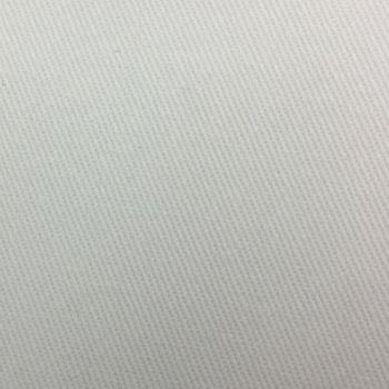 Cotton Drill Fabric - White - 100% Cotton - 160cm wide - Metre
