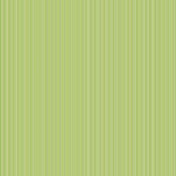 Makower Fabric - Pinstripe - Moss Green G6 - 100% Cotton - 1/4m+